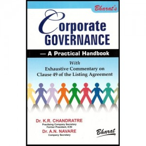 Bharat's Corporate Governance - A Practical Handbook by Dr. K.R.Chandratre & Dr. A.N. Navare